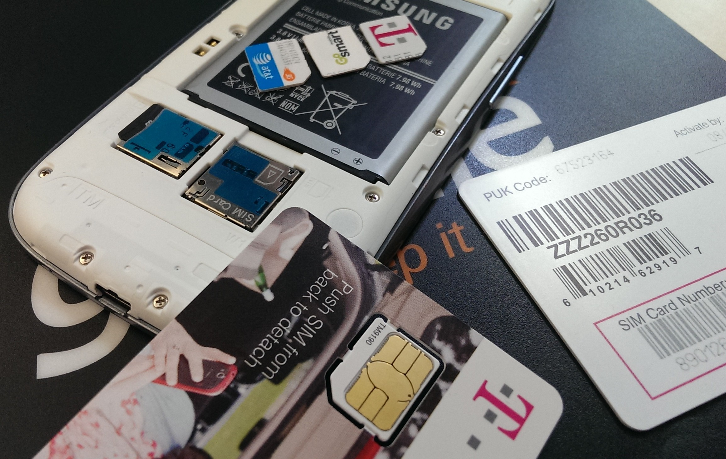 How to Remove Your SIM Card from Your Galaxy Smartphone