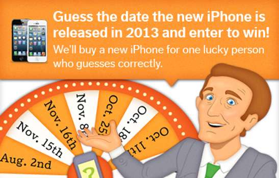 Guess the date of the iPhone release!