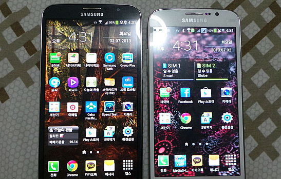 Samsung Galaxy Mega 6.3 With 5.8