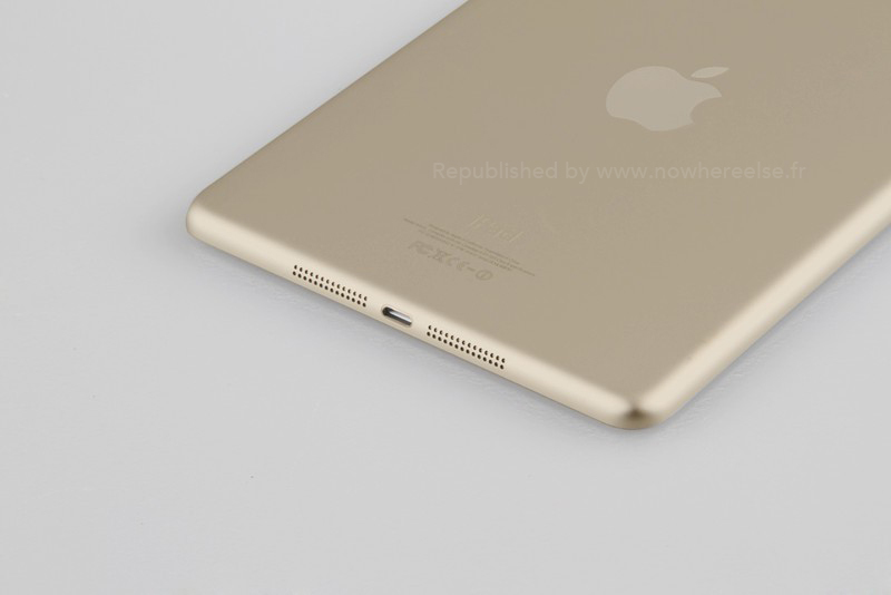 ipad in gold