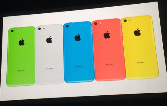 iPhone 5C Slide