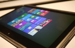 The Windows 8 ecosystem is designed with tablets in mind.