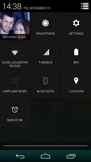 kitkat settings