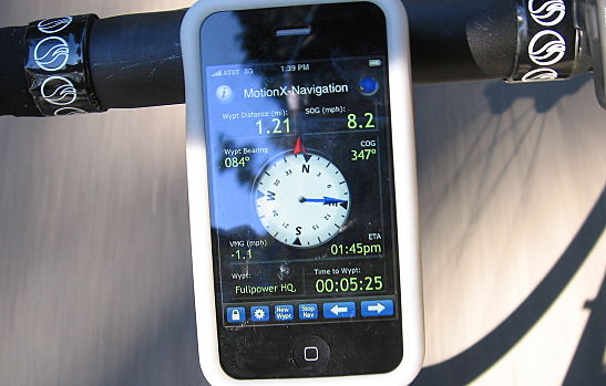 Compare iPhone Vs  Android GPS Apps