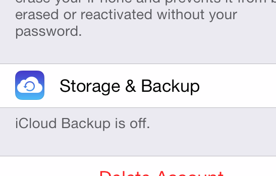Backup Your Phone Using iTunes or iCloud