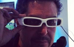 Sony SmartEyeglass at CES 2014