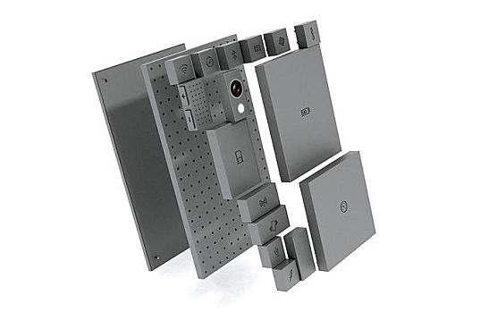 A conecpt for a modular phone by Phonebloks, a forerunner to the Google Project Ara Smartphone.