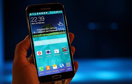 The Samsung Galaxy S5 is getting a firmware update
