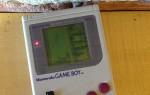 Game Boy Playing Tetris