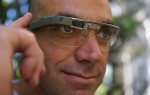 Man wearing Google Glass