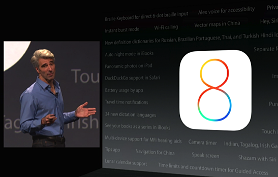 Apple Reveals iOS 8: Health, SMS Improvements, and Family