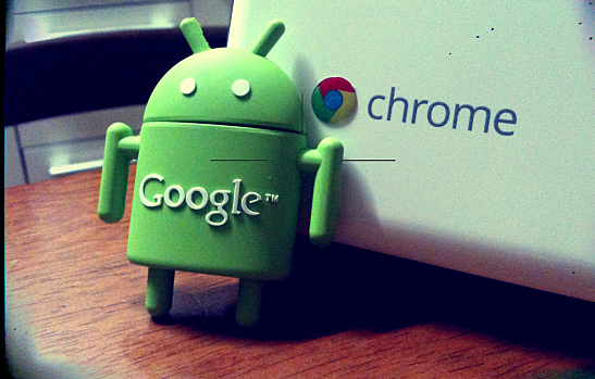 Android on Chrome