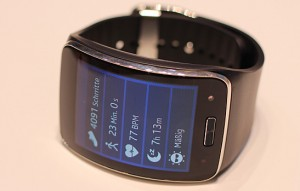 Look for the Samsung Gear S smartwatch to be released later this fall.