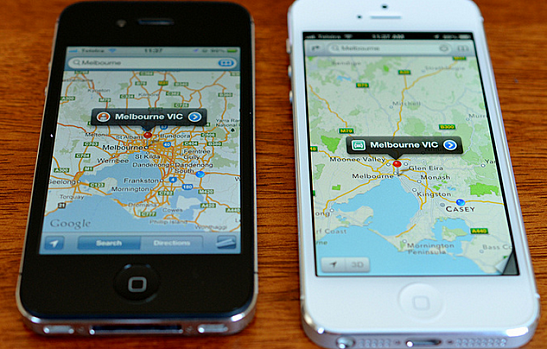Google Maps and Apple Maps