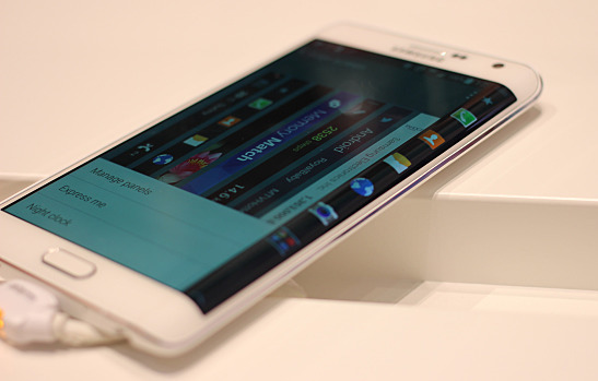 The S6 will have a curved secondary screen just like the Edge