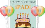 iPad 5th Birthday