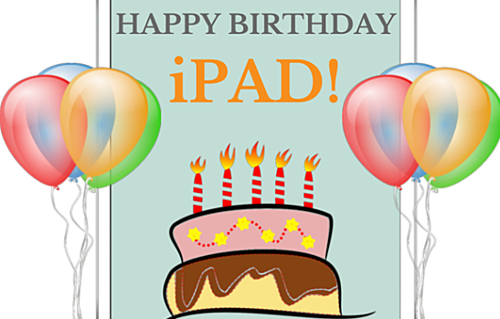 iPad 5th Birthday
