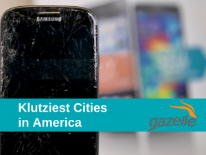 Top 10 Klutziest Cities in America