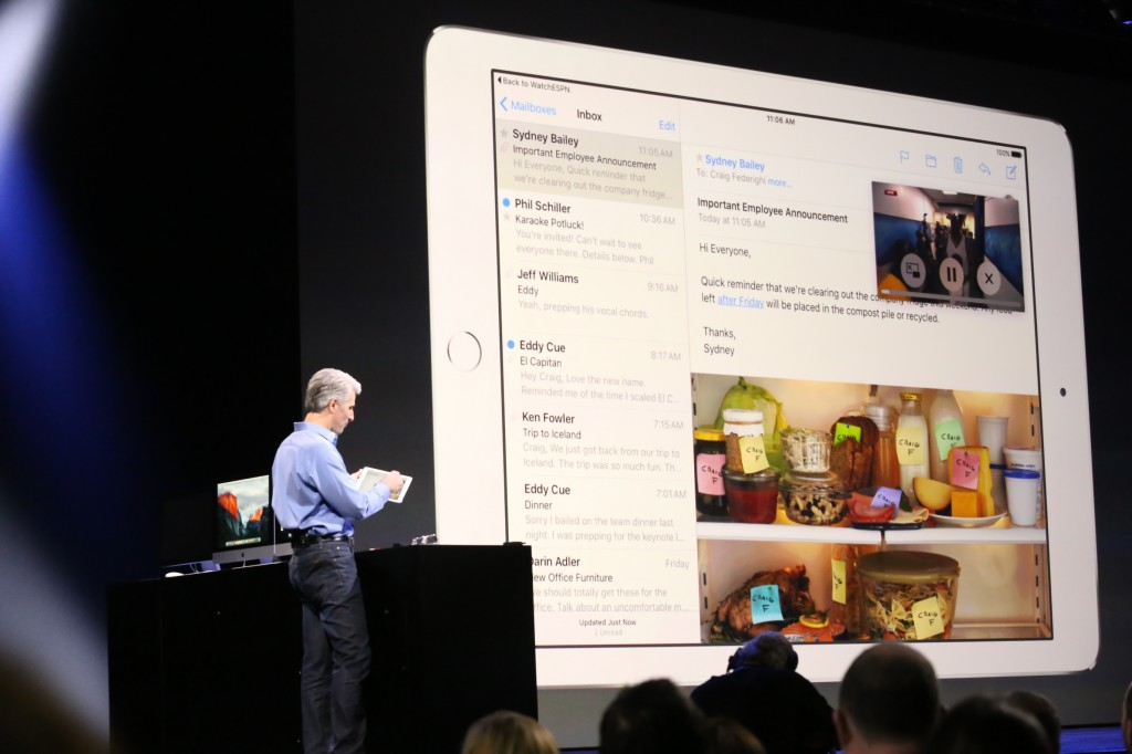 Apple iOS 9 Multitasking