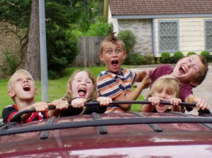 Road-tripping with your kids