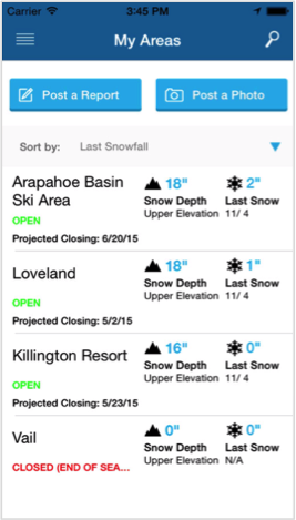 Best Apps For Skiers And Snowboarders Gazelle The Horn - What's my elevation app