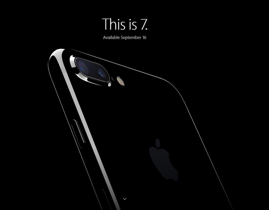 Apple Releases iPhone 7