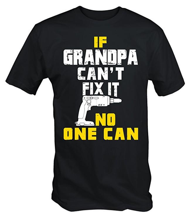 If Grandpa Can Fix It T-Shirt