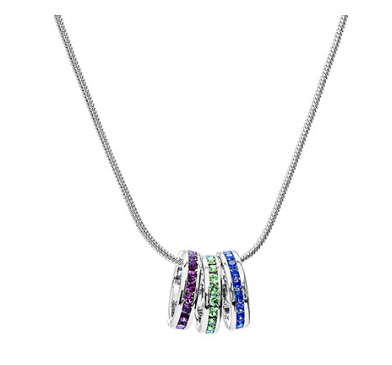 Stackable Birthstone Necklace