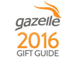 2016 Christmas Gift Guide from Gazelle