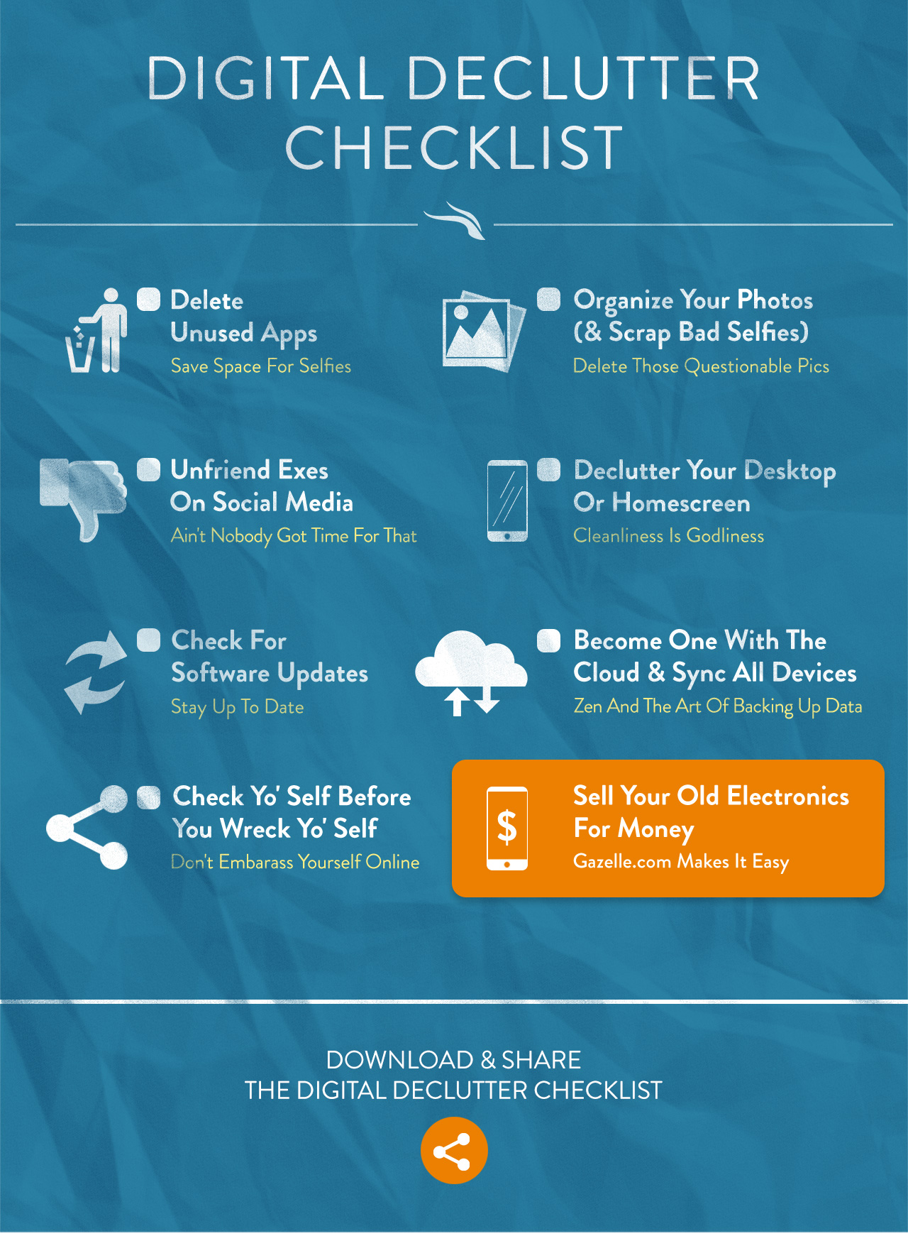 8 Simple Ways To Declutter Your Digital Life Gazelle The